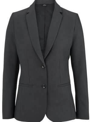 Women's Washable Blazer Steel Grey