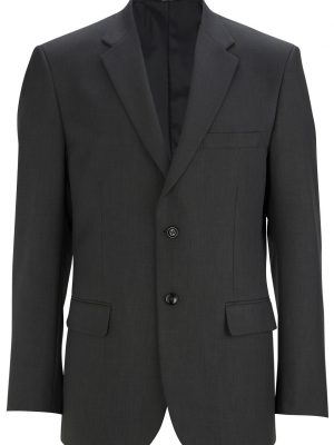 Men's Washable Blazer Steel Grey