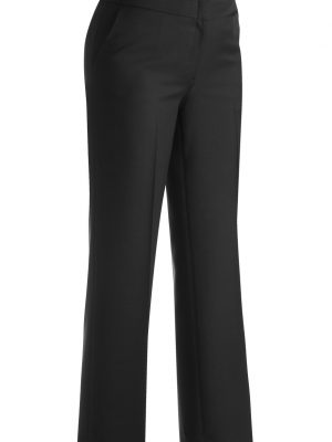 Women's Wool Blend Pants Black