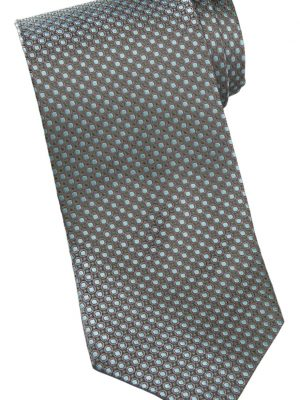 Dots Silk Tie Jade