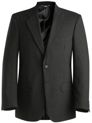 Men's Wool Blend Blazer Charcoal