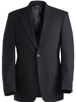 Men's Wool Blend Blazer Navy