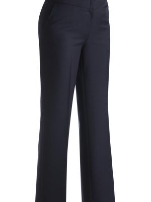 Women's Wool Blend Pants Navy