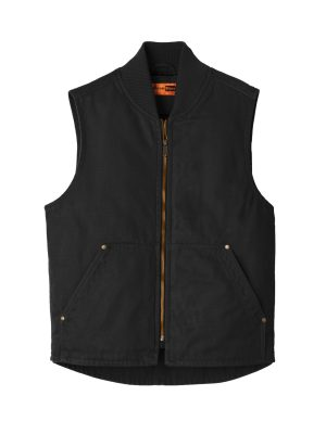 Vest Washed Duck Cloth